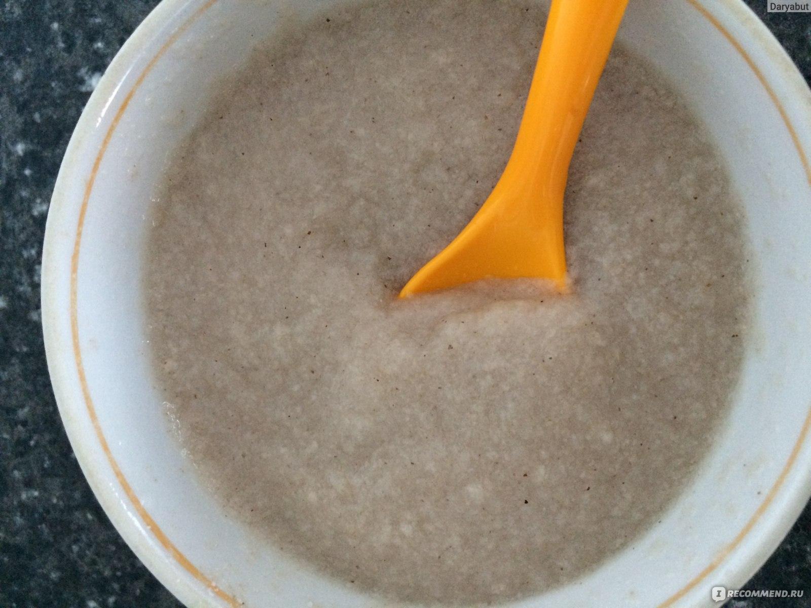 Гречневая каша для грудничка – кулинарный рецепт