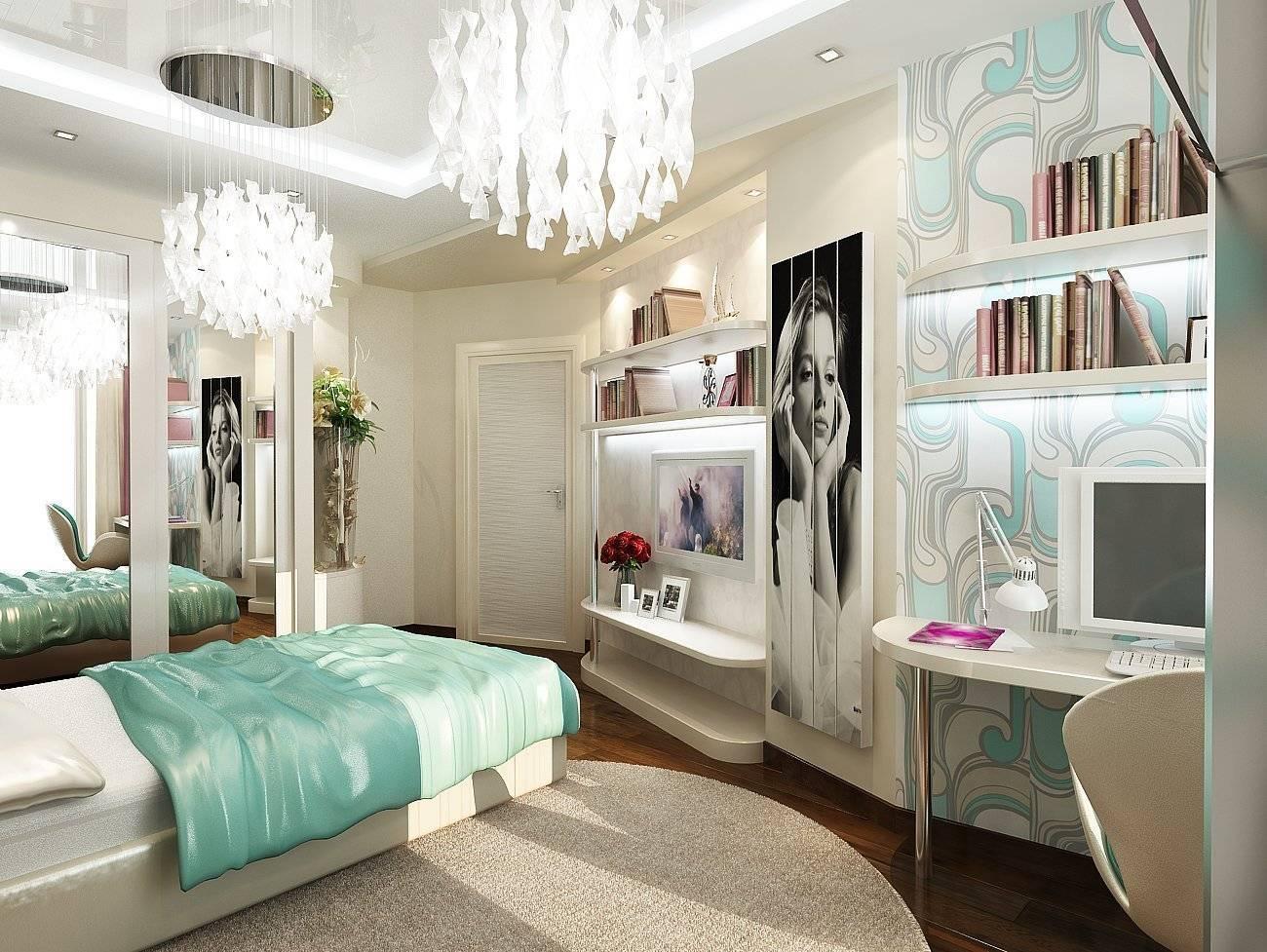 Комната для подростков: дизайн, планировка, обои, мебель