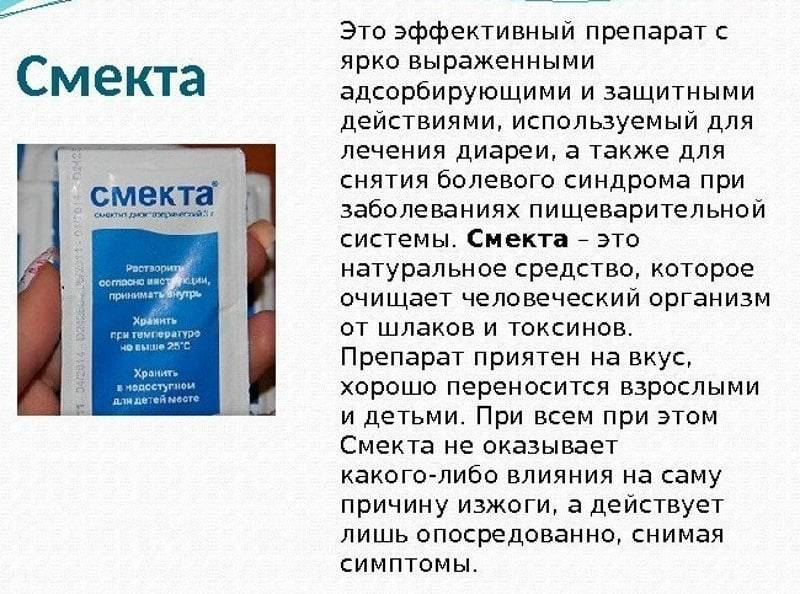 Смекта инструкция к применению для детей до года при рвоте и поносе