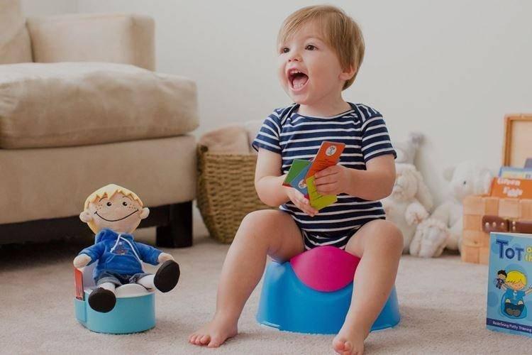Как приучить ребенка к горшку в 1, 2, 3 года