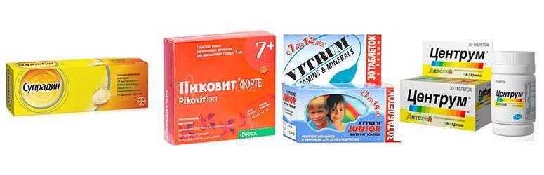 Витамины для детей 12 лет: какие лучше, обзор комплексов