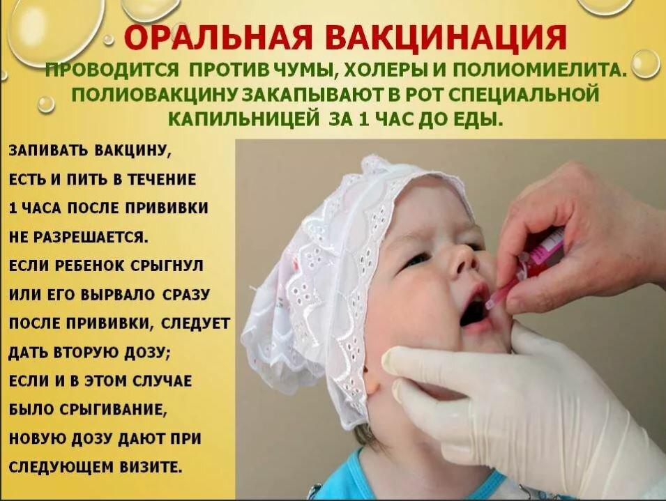 Живая вакцина от полиомиелита и непривитый ребенок — можно ли заразиться в этом случае?