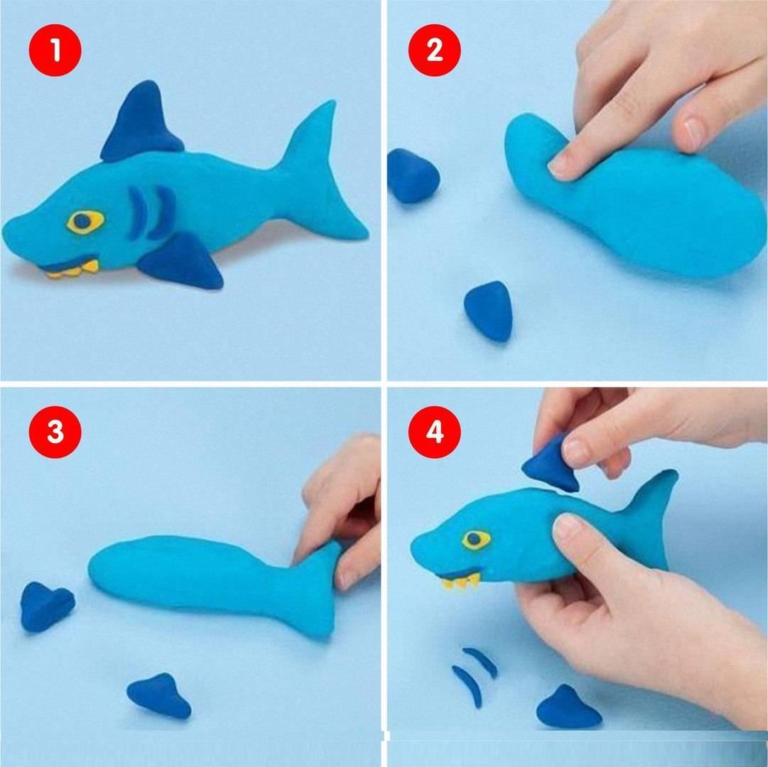 Лепка из пластилина для детей 3-4 лет в детском саду на тему зима, осень, весна. пошаговые инструкции