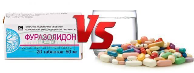 Фуразолидон: инструкция по применению для детей до 2 и 3 лет в таблетках, суспензии, дозировки