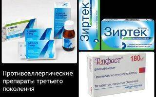 4 эффективных лекарства от аллергии для детей