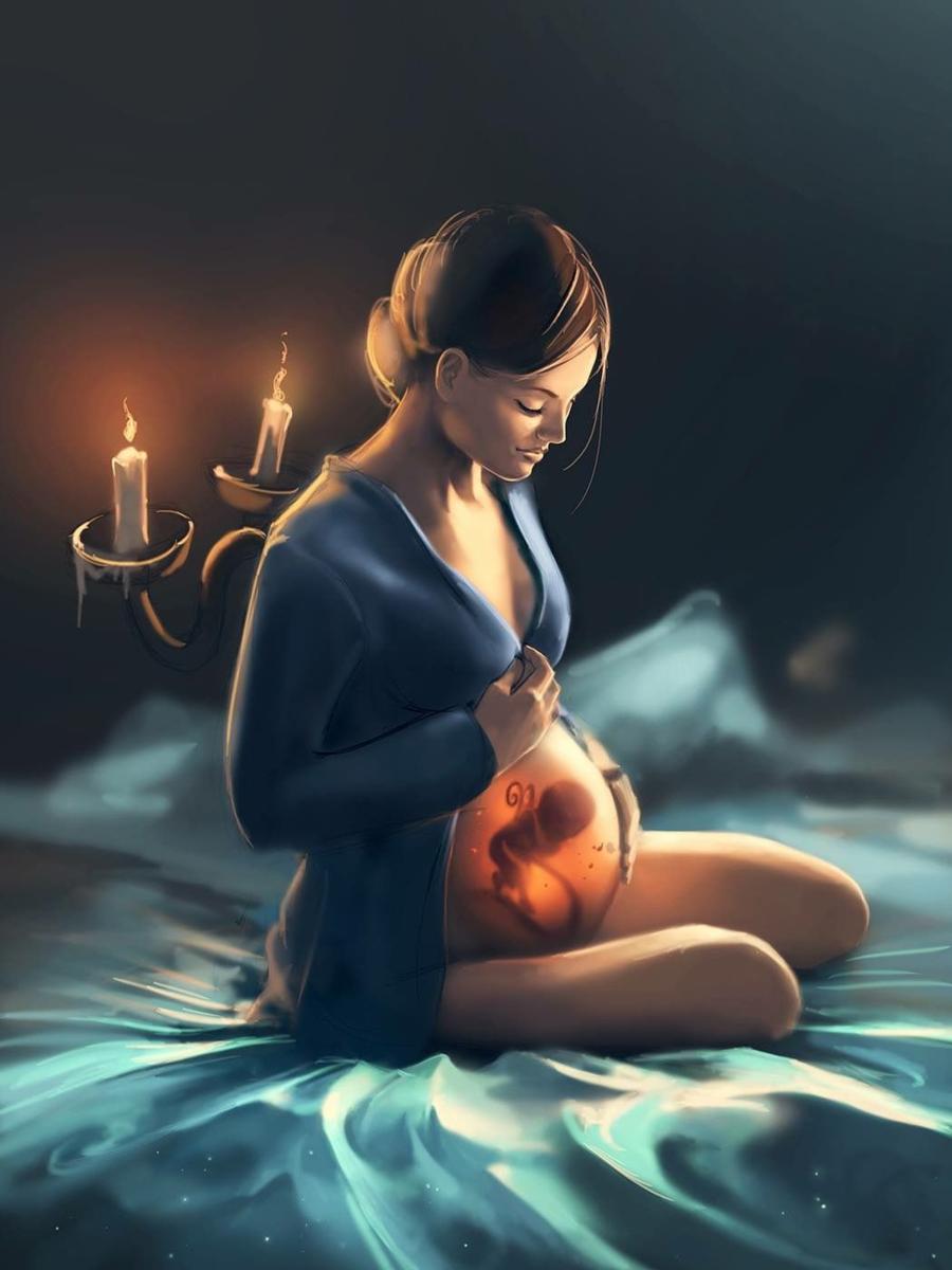 Какие снятся сны к беременности, кроме рыбы