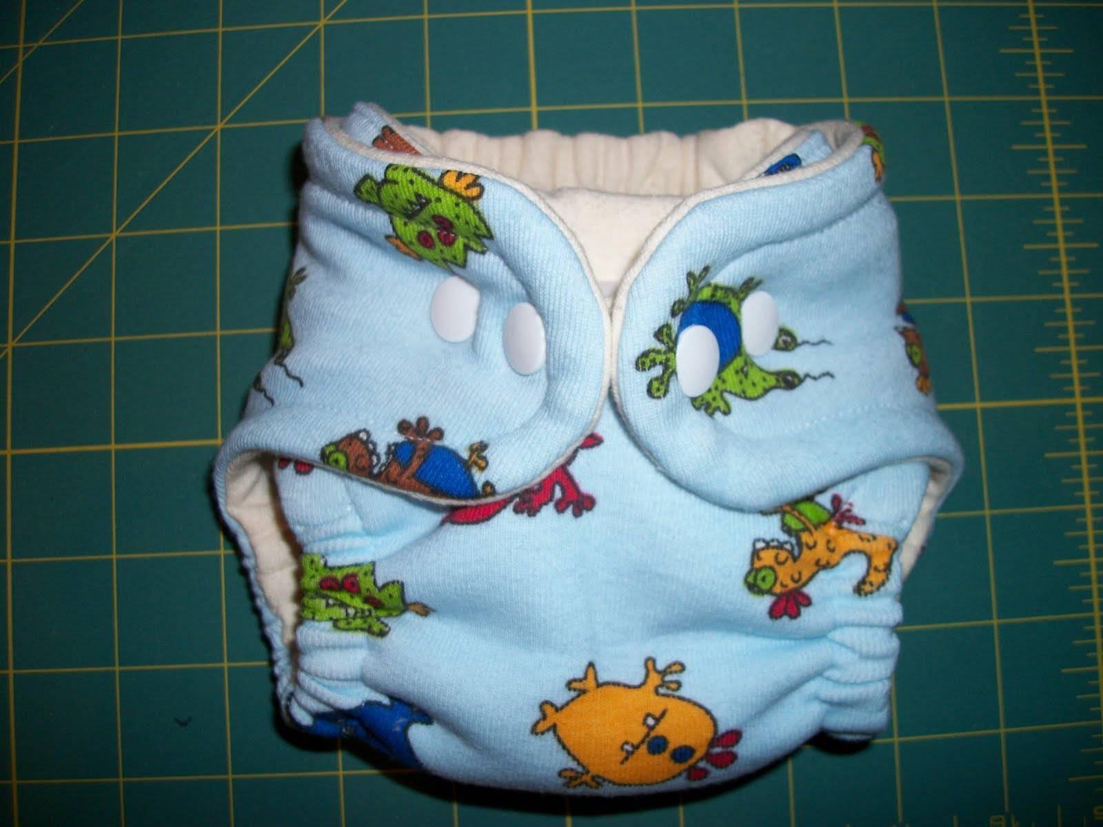 Пошив марлевых подгузников для новорожденного по пошаговой инструкции