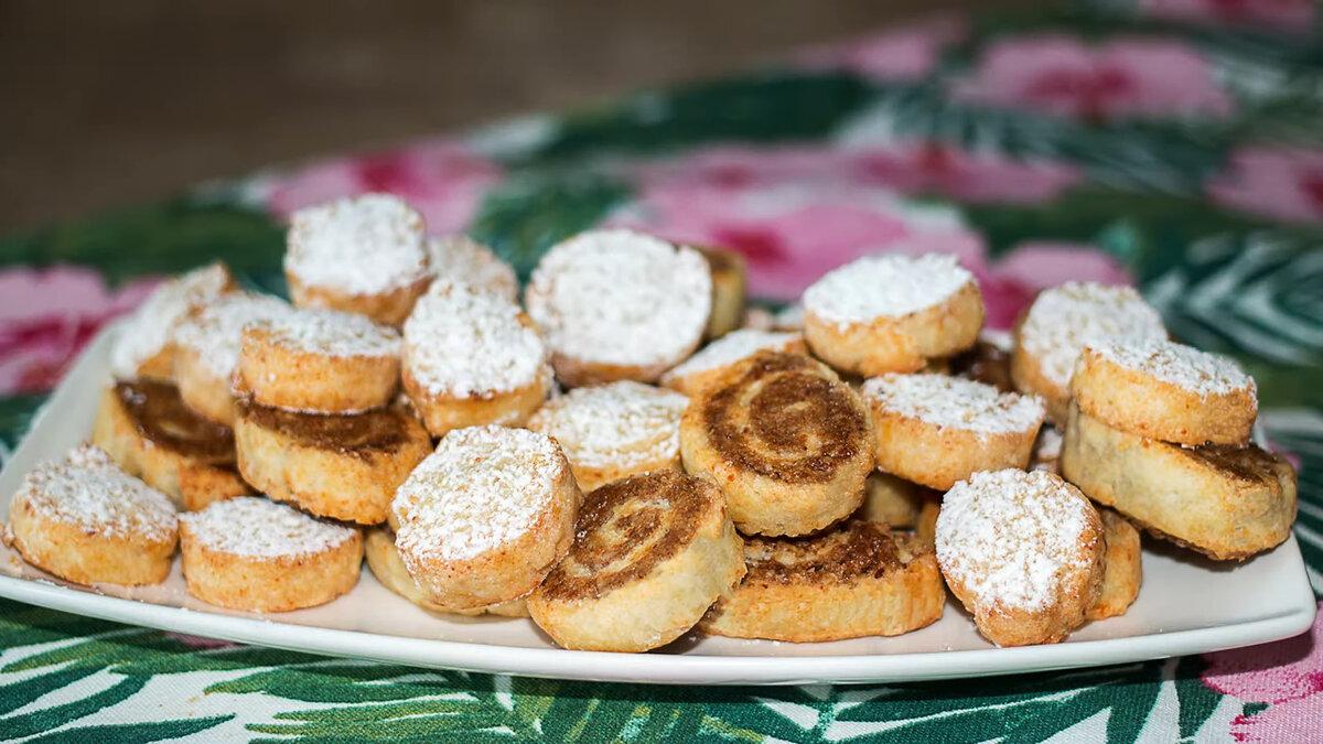 Овсяное творожно-банановое печенье – кулинарный рецепт