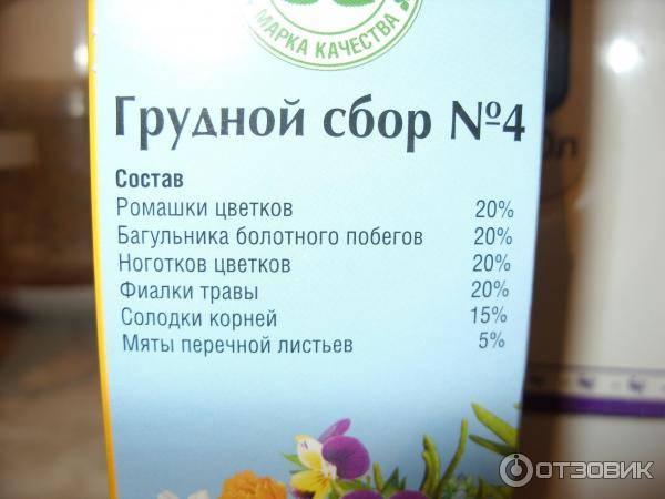 Правила применения грудного эликсира от кашля