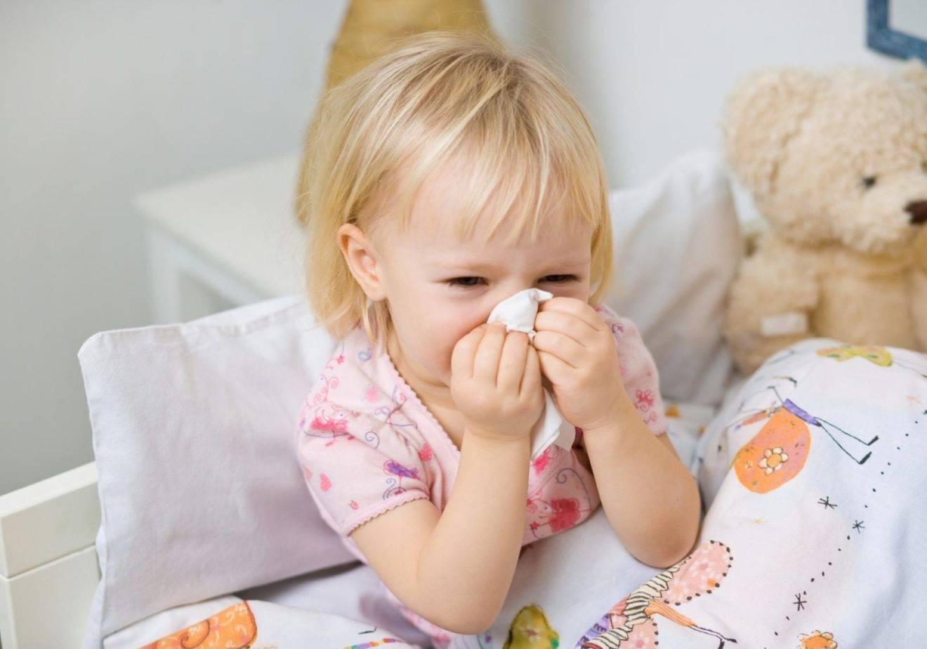Ребенок шмыгает носом, но соплей нет