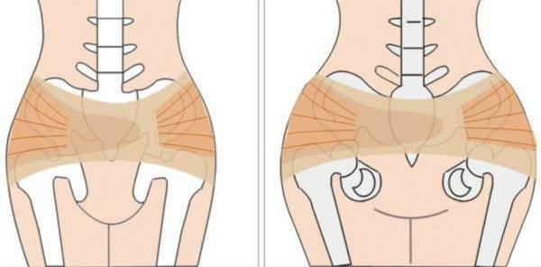 После родов кости таза встанут на место