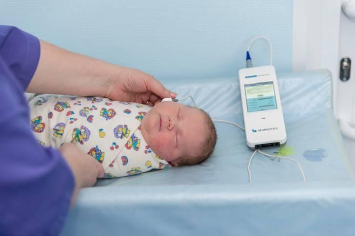 Аудиологический скрининг новорожденных[как проводится]