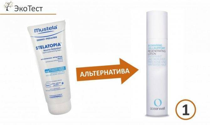 Крема и мази при детском атопическом дерматите