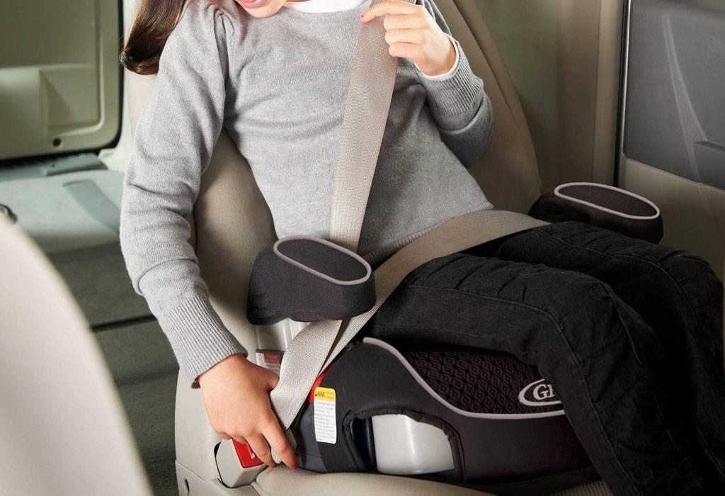 Правила использования бустера для перевозки детей в автомобиле