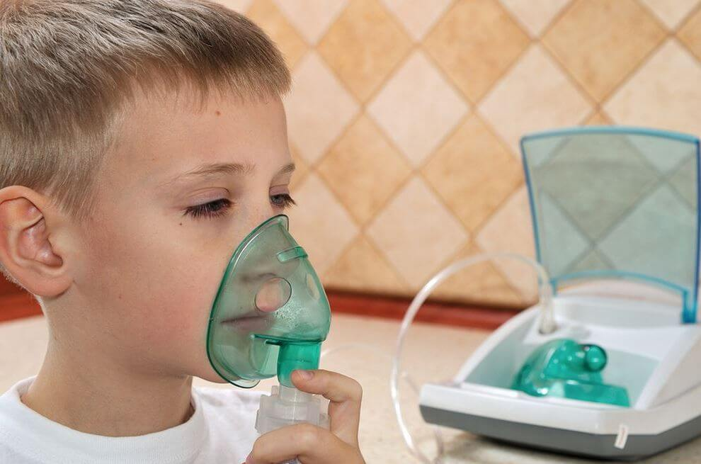 Ингаляции с физраствором при кашле у детей до года дозировка небулайзер