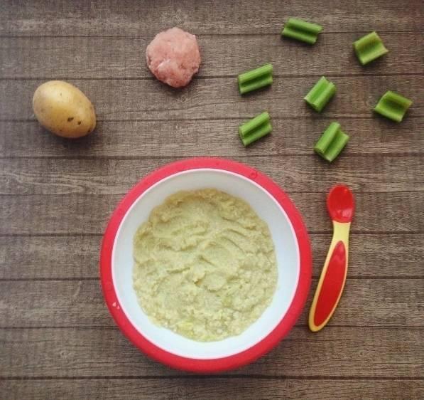 Пюре из брокколи для грудничка рецепт