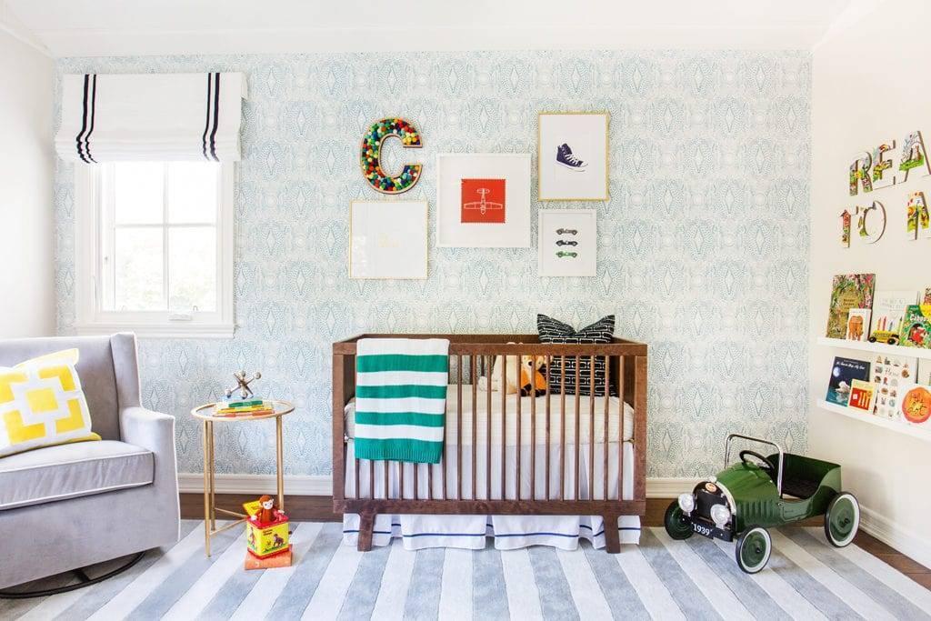 Серая детская комната – 35 фото и 8 дизайн-советов