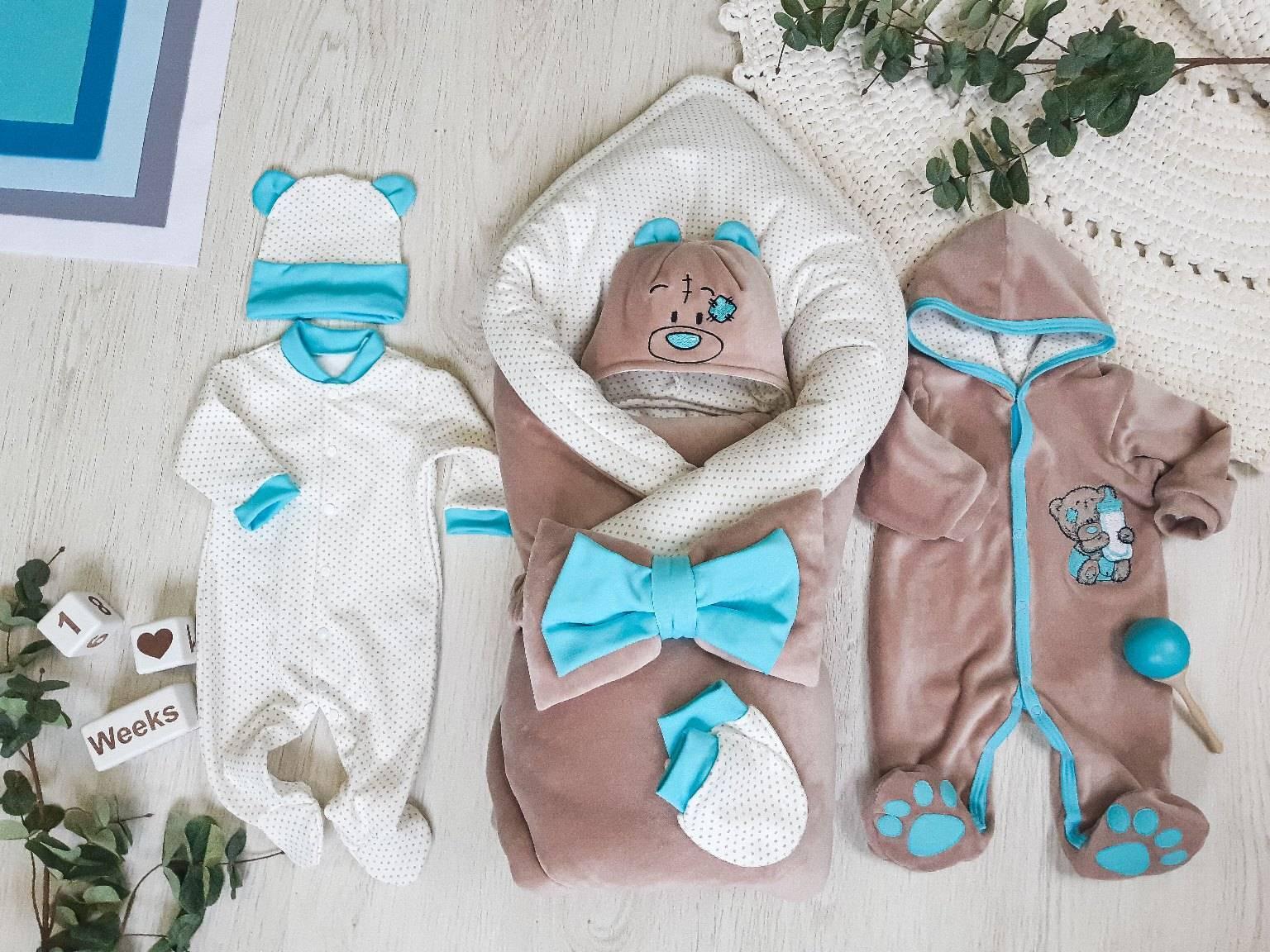 Вязаные конверты новорожденным со схемой