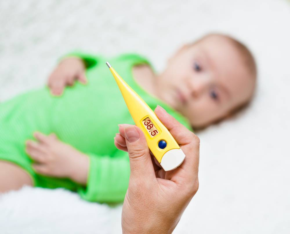 Какую температуру сбивать ребёнку в 6 лет?