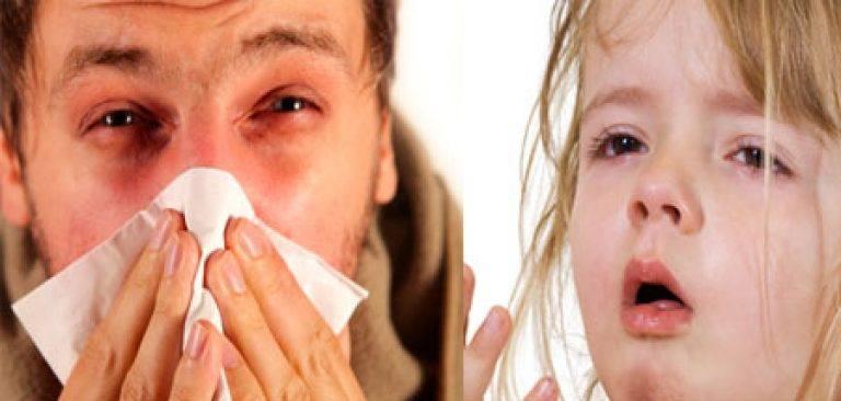 Кашель сопли и гной из глаз у ребенка