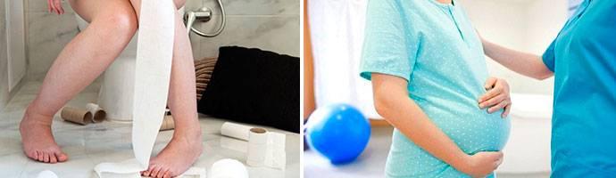 Понос во время беременности: что можно беременным от поноса, что делать
