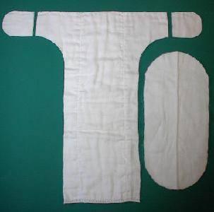 Марлевые подгузники своими руками: 3 варианта сворачивания