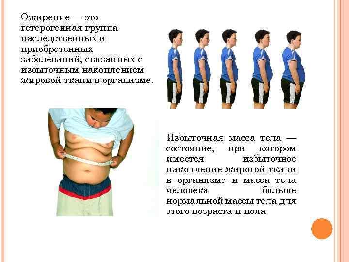 Детское ожирение: ваш ребенок будет стройным (таблицы)