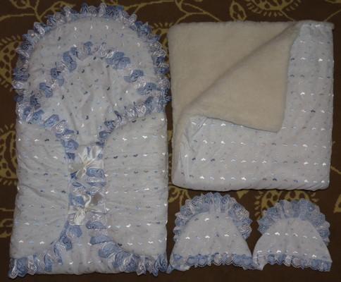 Конверт на выписку своими руками: летний и зимний для новорожденных из роддома, как сшить для мальчика и девочки, выкройки конверта-одеяла