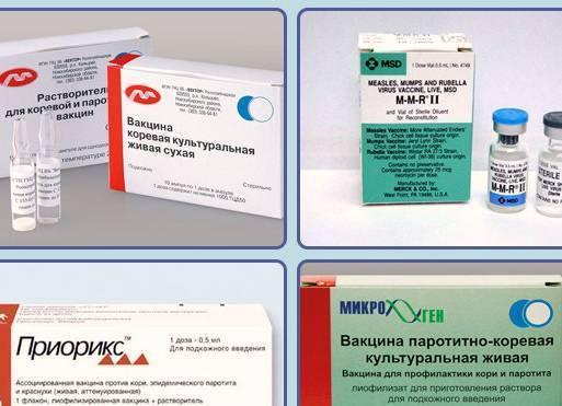 Прививка от кори, паротита, краснухи, описание, осложнения, вакцины