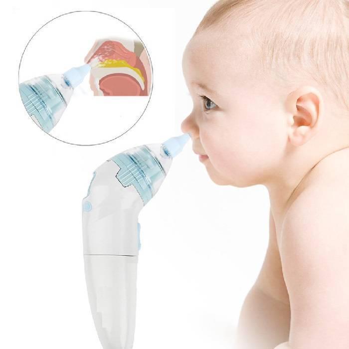 Как пользоваться аспиратором для новорожденных