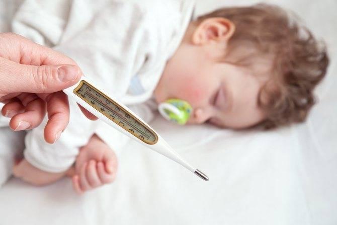 Судороги у детей при температуре