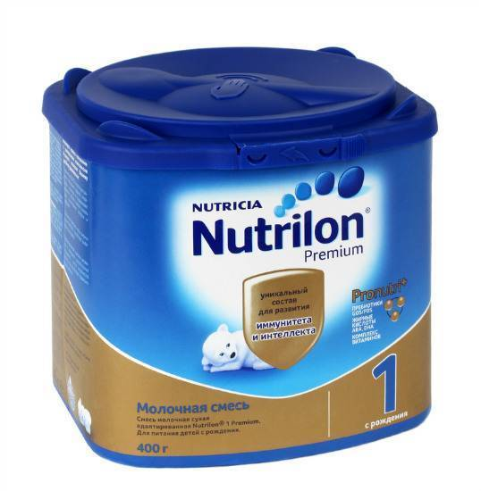 Смеси нутрилон для аллергиков - состав, эффективность