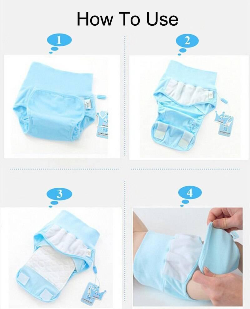 Чем заменить памперсы новорожденному? | babynappy