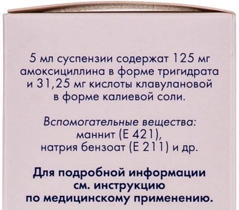 Амоксиклав квиктаб 250мг + 62,5мг инструкция по применению