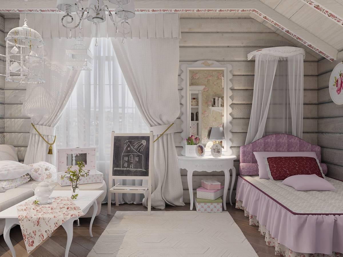 Стиль прованс в интерьере квартиры: дизайн ремонта однокомнатных студий фото