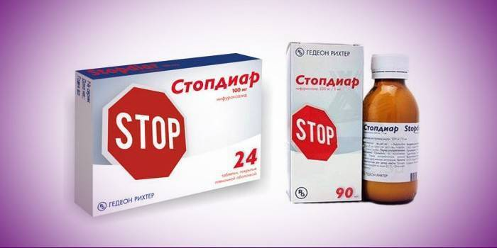 Стопдиар − инструкция, применение для детей, таблетки, суспензия, цена