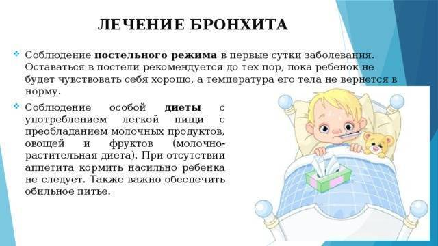 Бронхит у детей: симптомы и лечение в домашних условиях