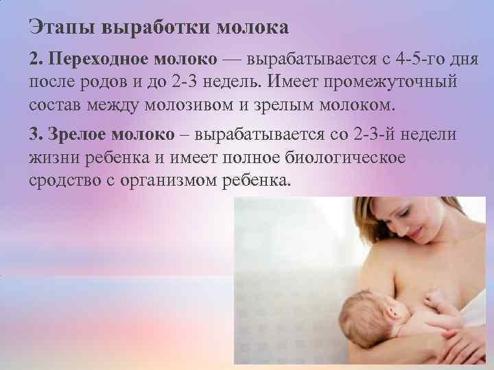 Когда приходит молоко после родов. что делать, если нет молока