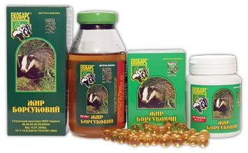 Барсучий жир от кашля - натуральное средство для детей