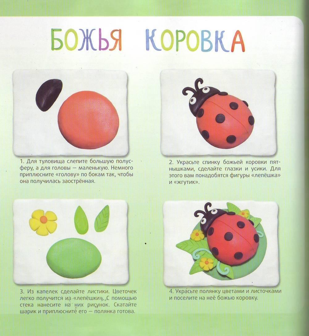 Поделки из пластилина для детей 2-4 лет: 125 фото готовых работ + инструкция + мастер-класс