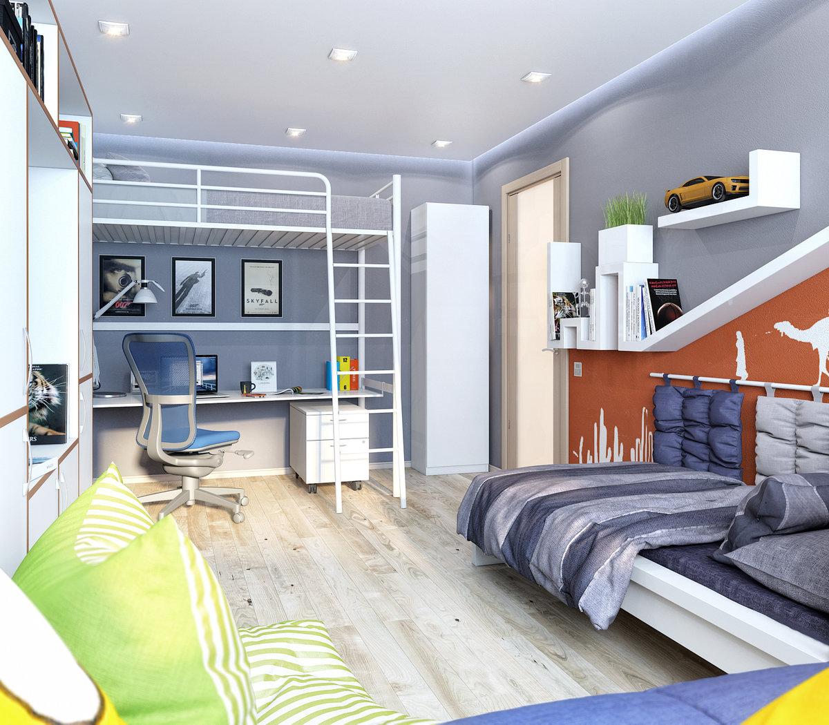 Дизайн для комнаты 10 кв для подростка - девочки, мальчика, двоих детей: фото интерьера, планировка | детская | vpolozhenii.com