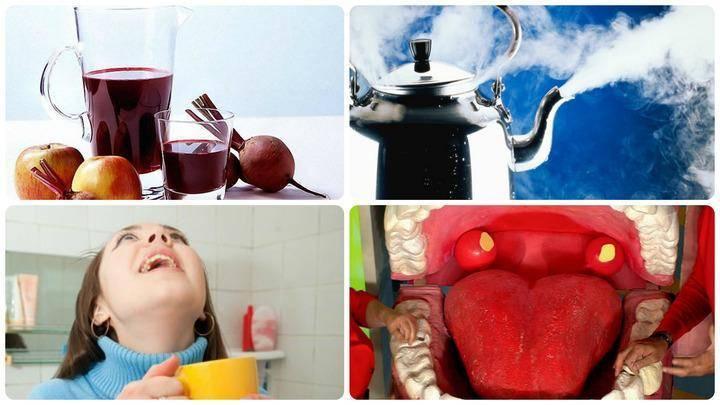 Как быстро вылечить горло в домашних условиях за 1 день. содо солевой раствор для полоскания ⋆ 7 жизней женщины
