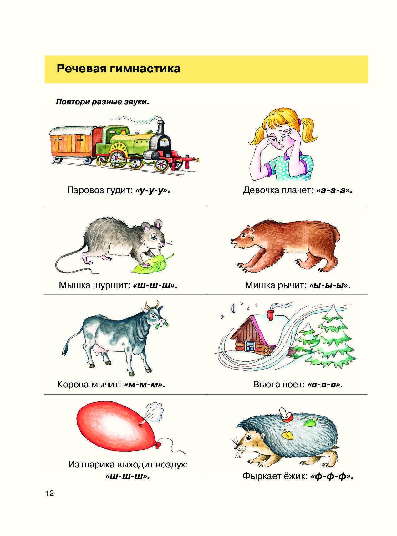 Логопедические занятия для детей 5-6 лет: упражнения для дома