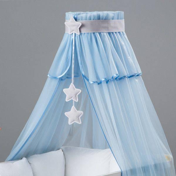 Как сделать балдахин над детской кроваткой своими руками