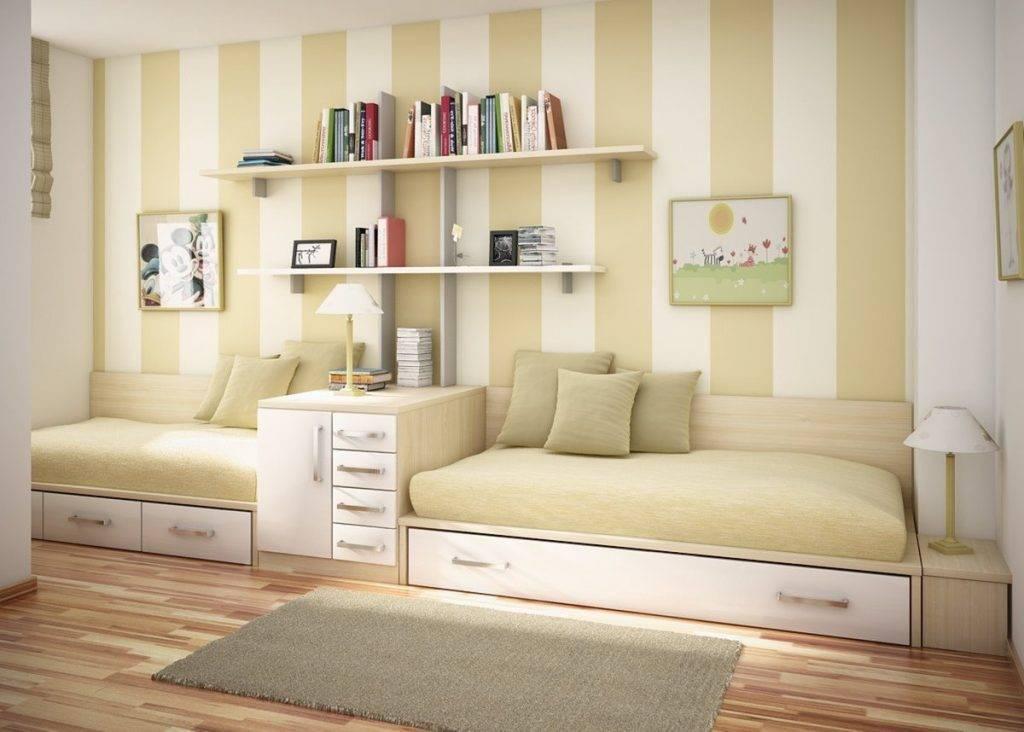 Идеи для дизайна детской комнаты для двоих детей: особенности планировки +62 фото