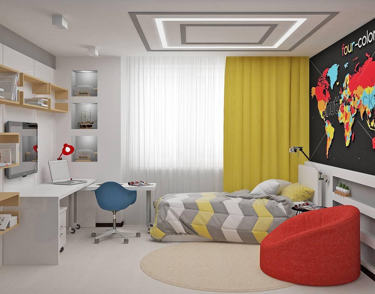 ???? дизайн комнаты для мальчика подростка: как выбрать оформить