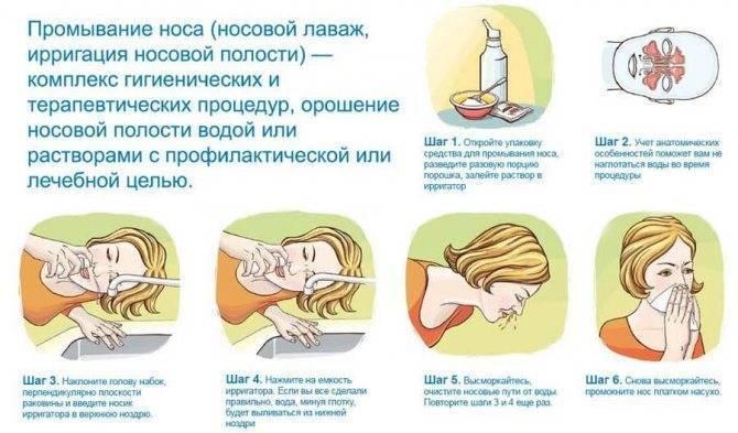 Можно ли промывать нос хлоргексидином?