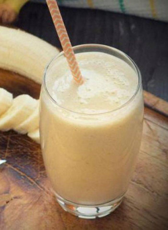 Лекарство от кашля с бананом и молоком для детей