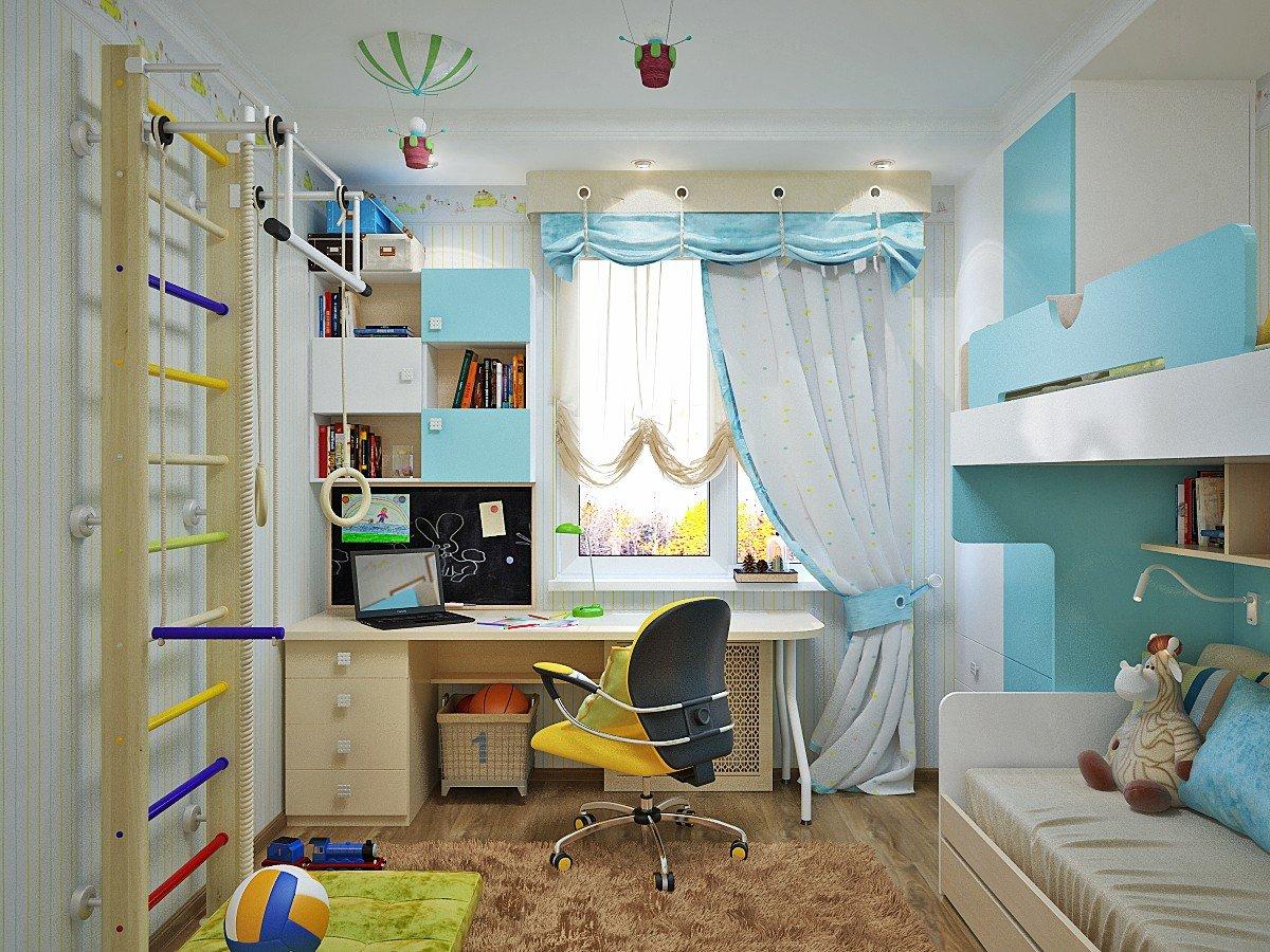 Детская комната: дизайн интерьера для школьников, варианты обустройства, фото