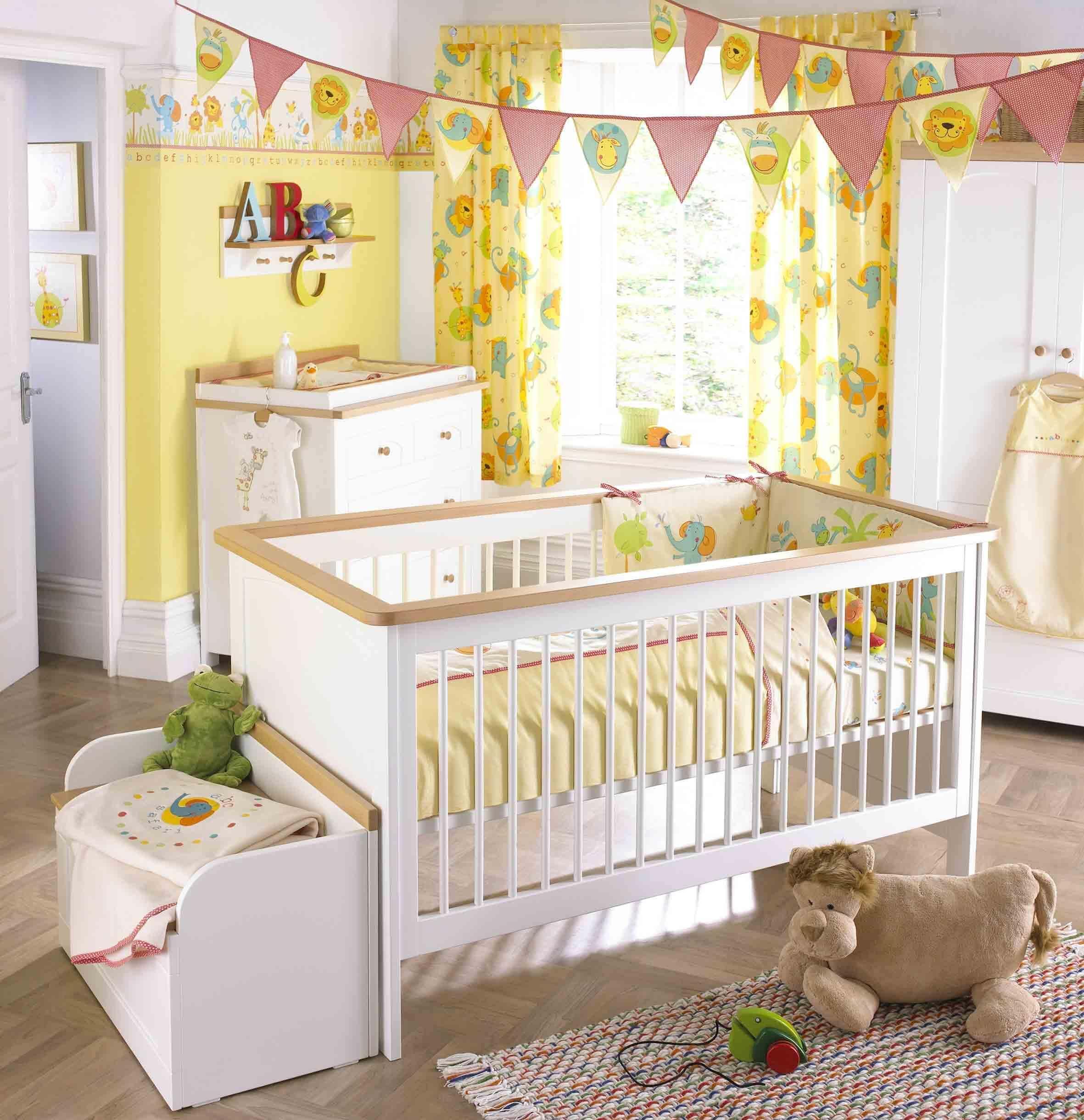 Дизайн детской комнаты для новорожденного: 75 фото оформления
